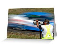 Flash Photography Greeting Card
