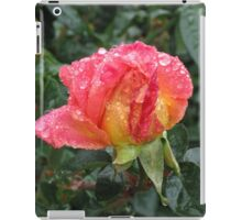 Wet and Wild Rose iPad Case/Skin