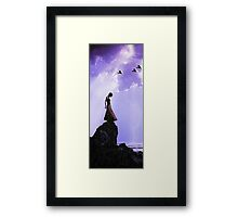 Ready To Fly... Framed Print