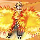 Tsuna: Hyper mode by Cresendo