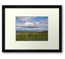 Irish Horizon in the Burren Framed Print