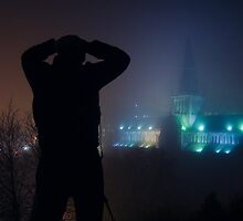 Glasgow: Glasgow Cathedral Silhouette by Stewart Priest