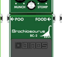 Dinosaur Effects Pedals Sticker