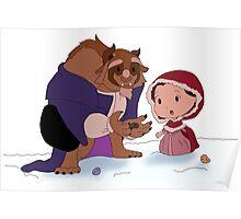 Beast Christmas Poster