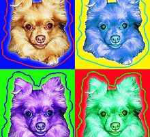 Coco warhol style  by carin berger