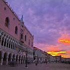 Italy. Venice. Palazzo Ducale. Sunrise. by vadim19