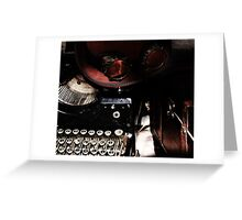 Steampunk Reflection Greeting Card