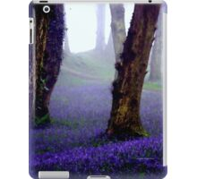 Bluebells in the Mist iPad Case/Skin