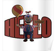 Hello (Balloon Boy) Poster