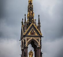 The Albert Memorial Amidst Clouds by Nicole Petegorsky