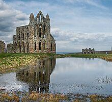 Whitby Abbey by Ann Garrett