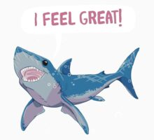 Shark Greatness is All About Attitude  Kids Clothes