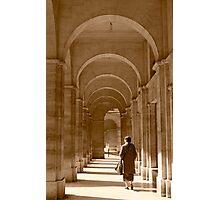 Archways in Paris, in sepia Photographic Print