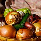 Garlic & Onions by KarenEaton