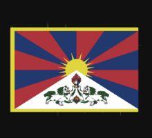 Tibet FLAG by Grazia Gargiulo