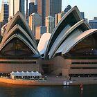Sydney Opera House at Dawn by Robyn Williams