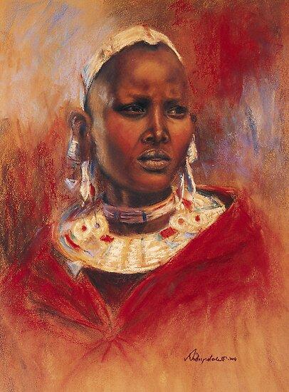 Nata - Ngorongoro by Angela Drysdale