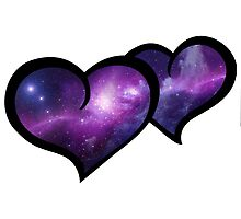 Galaxy Infinity Hearts by CraftyCreepers