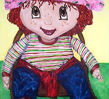 """Strawberry Doll"" by Adela Camille Sutton"