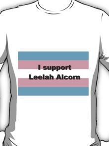 I support Leelah Alcorn (black) T-Shirt
