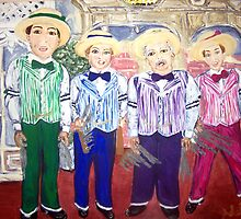 """The Dapper Dans"" by Adela Camille Sutton"