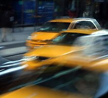 New York Cabs by maryej