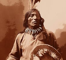 Sioux Medicine Man (1844- 1909) by paul boast