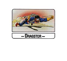 He-Man - Dragstor - Trading Card Design Photographic Print