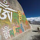 Lhasa Valley, Tibet by Hugh Chaffey-Millar