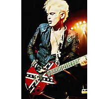 Billy Idol - Digital Painting Photographic Print