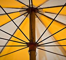 beach umbrella by Martin Pot