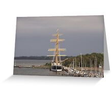 Tall Ship Passat Greeting Card