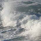 Sea at St Ives by linsads