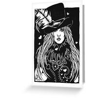 Blacklights : Stevie Greeting Card