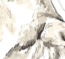 Spirit of Wolf - Shamanic Art Sticker