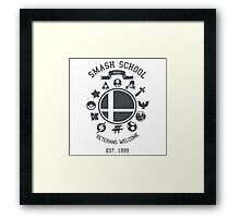 Smash School - Smash Veteran Framed Print