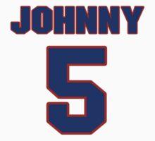 Basketball player Johnny Macknowski jersey 5 by imsport