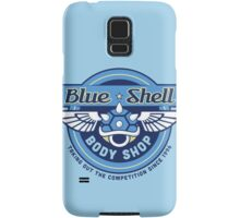Blue Shell Auto Body Samsung Galaxy Case/Skin