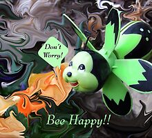 Bee Happy by Jim  Darnall