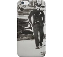 The Cops are Coming iPhone Case/Skin