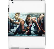 San Antonio Spurs Big Three iPad Case/Skin