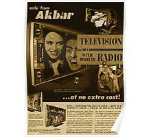 Akbar TV Company [pvt]- Pakistan's best HDTV of 1952 Poster