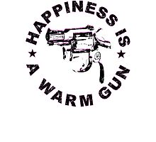 Happiness Is A Warm Gun (Inspired By John Lennon / Andy Warhol)  Photographic Print