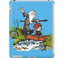 Gandalf and Bilbo Calvin and Hobbes iPad Case/Skin