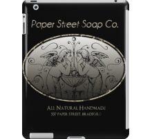 Paper Street Soap Company (fight Club) iPad Case/Skin
