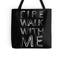 Fire Walk With Me (Twin Peaks) Tote Bag