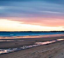 Winter Beach by Richard Bean