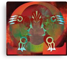 Omega Ruby Canvas Print
