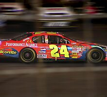 Jeff Gordon's Cup Car - Charlotte, N.C. by Kenneth Krolikowski