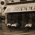 Restaurant on Paris Street by APhillips
